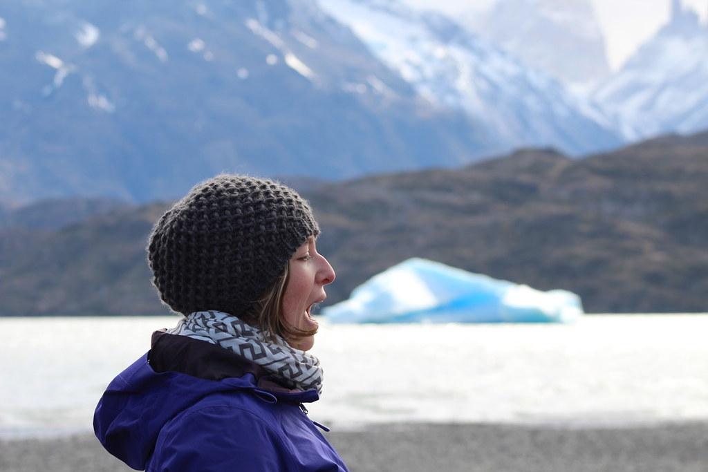 Iceberg. Torres del Paine, Chile. Copyright Jonny Eberle.