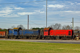 Johnson Railway Alcos in Cayce