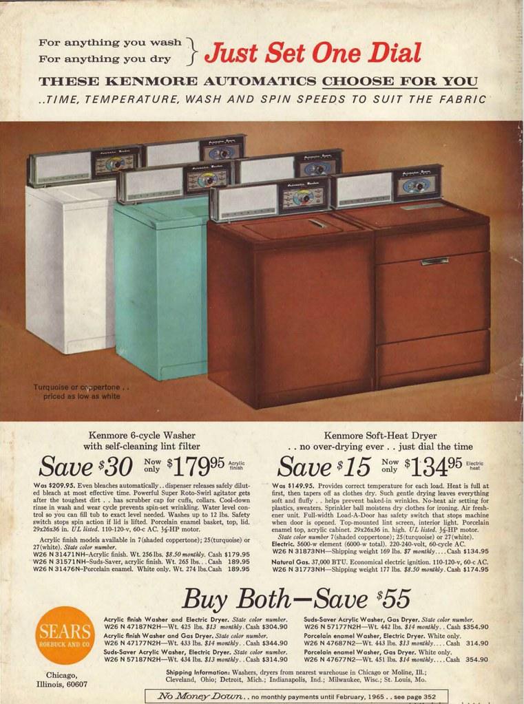 Sears Kenmore 1964