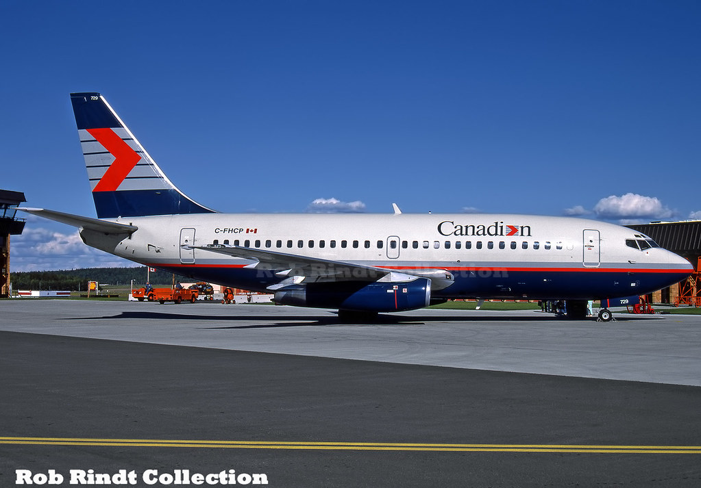 Canadian Airlines B737-2T5/Advanced C-FHCP