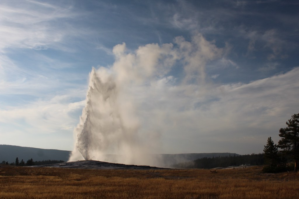 Old Faithful. Copyright Jonny Eberle.