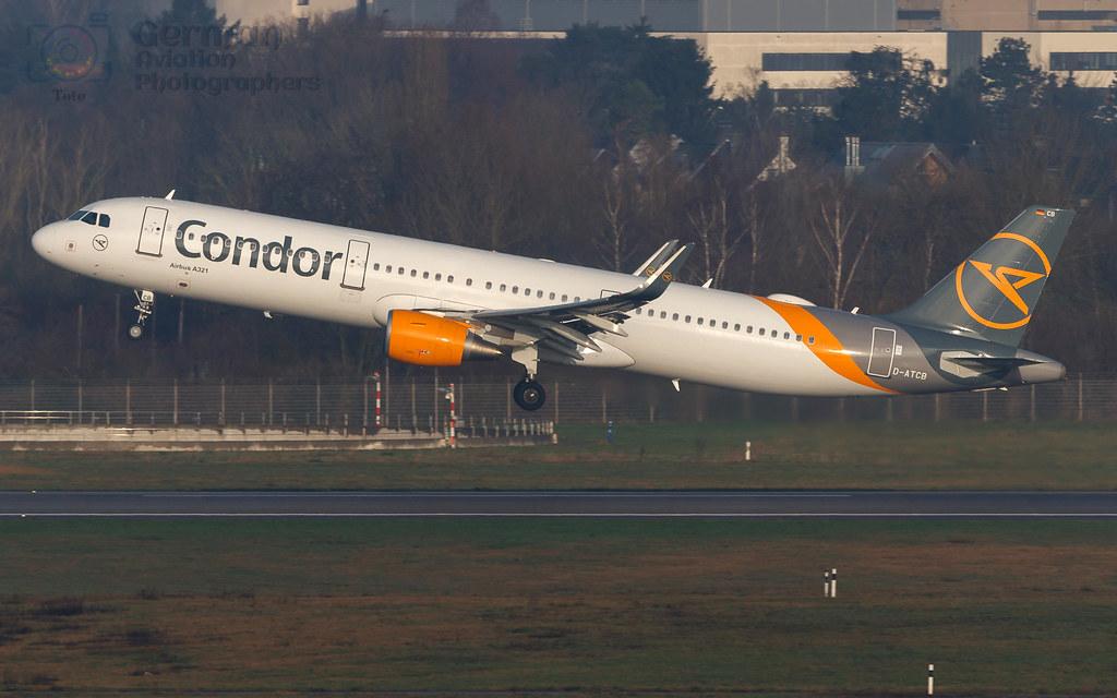 D-ATCB Condor Airbus A321-211(WL)
