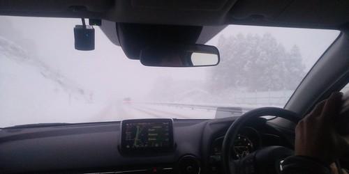 雪国ドライブ
