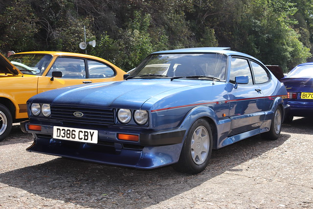 Ford Capri 2.8 Injection Special D386CBY