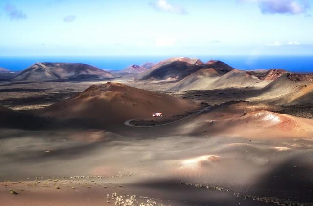 Das Drama des Vulkans / The drama of the volcano