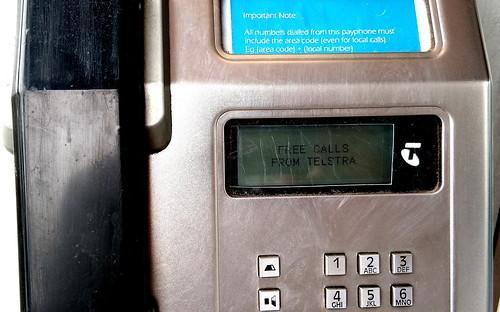Public phone free calls