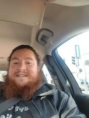Car Selfie of Famous Celebrity Joseph Carrillo