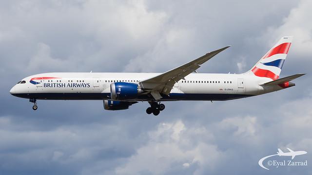 LHR - British Airways Boeing 787-9 G-ZBKD