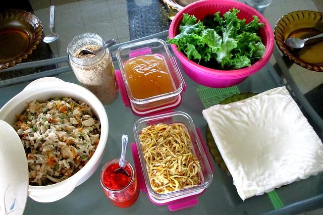 Popiah lunch