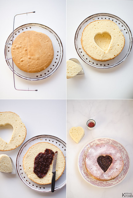 Pan di Spagna ai mirtilli rossi
