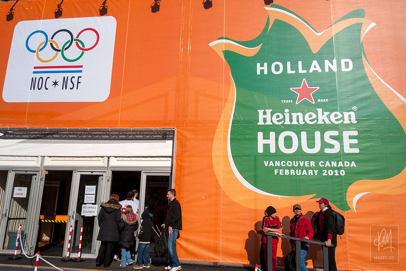 Sights & Sounds of Vancouver 2010: Holland Heineken House