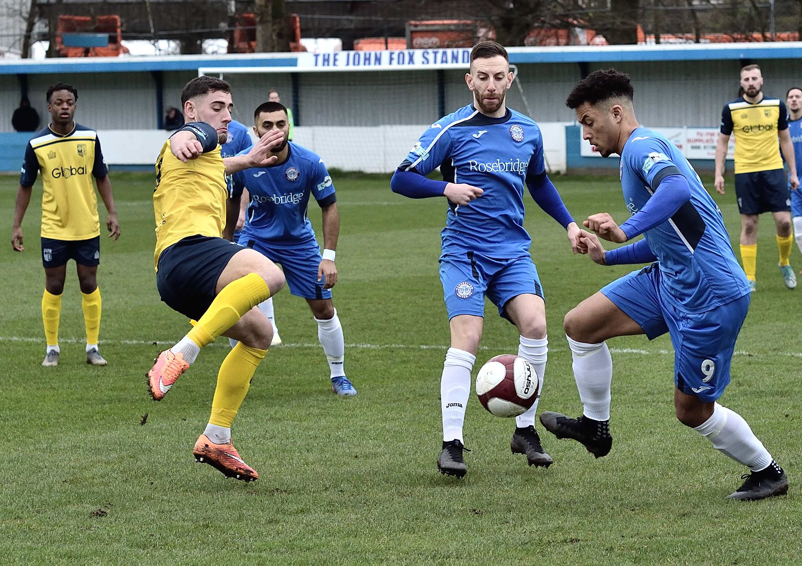 Rams 3 Tadcaster 0 - Match action
