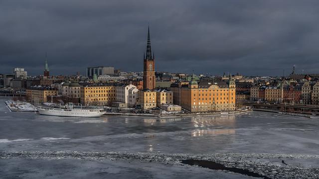 City in ice - Stadt im Eis