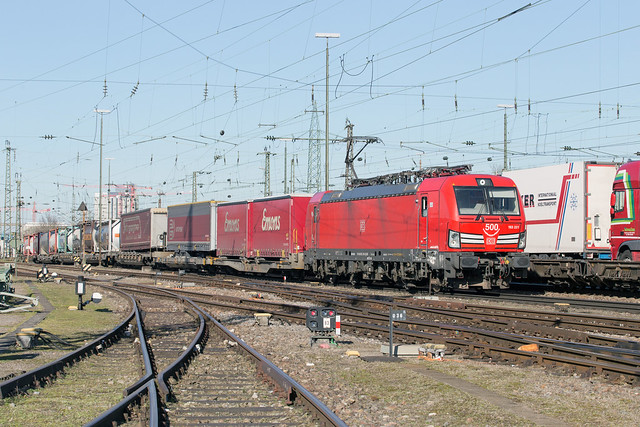 DB Cargo 193 331 Basel Badischer Bahnhof