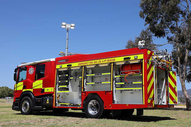 Emergency One (UK) Limited and PT Rescue Demonstrator Appliance