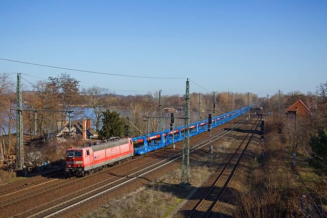 SEL 181 213 + DGS 95483  Guben - Braunschweig  - Werder (Havel)