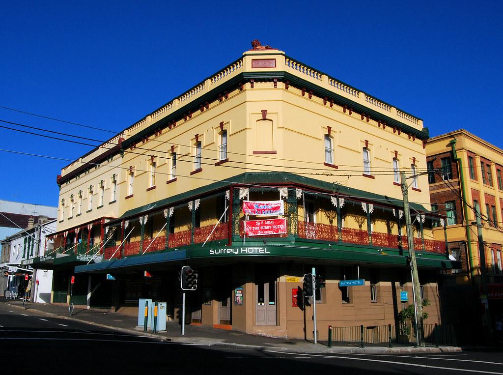 Surrey Hotel, Redfern, Sydney, NSW.