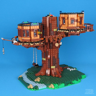 LEGO Ideas 21318 Tree House Review-23 | by DoubleBrick.ru