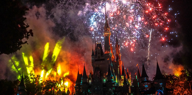 Oh no, the Castle's on fire! Not really Disney fans.