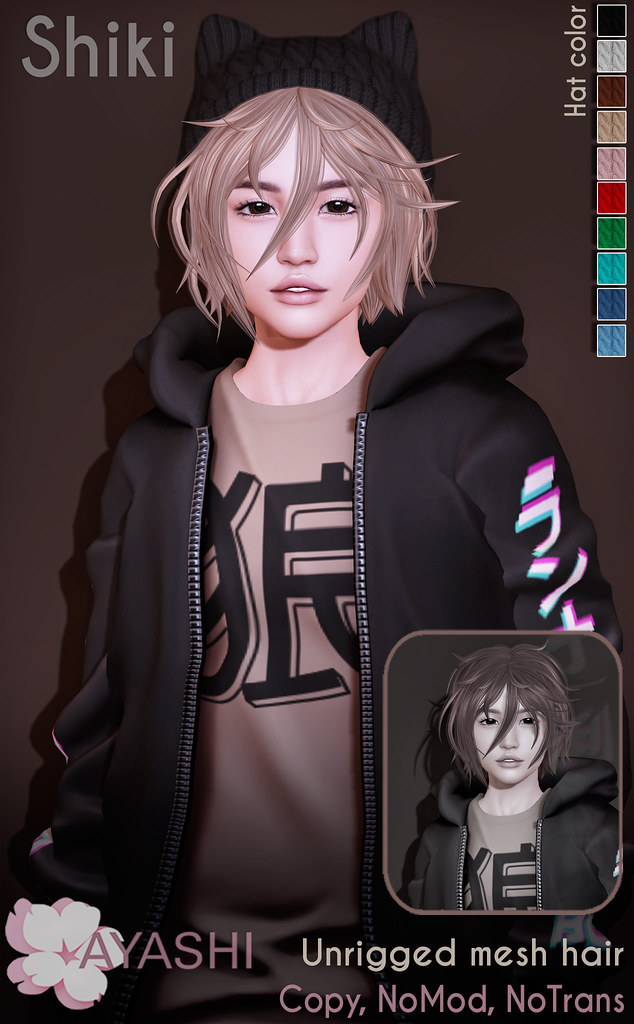 [^.^Ayashi^.^] Shiki hair special for Cupid Inc. Event