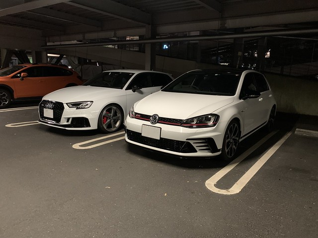 Audi RS3 and VW GOLF GTI Clubsport Track Edition