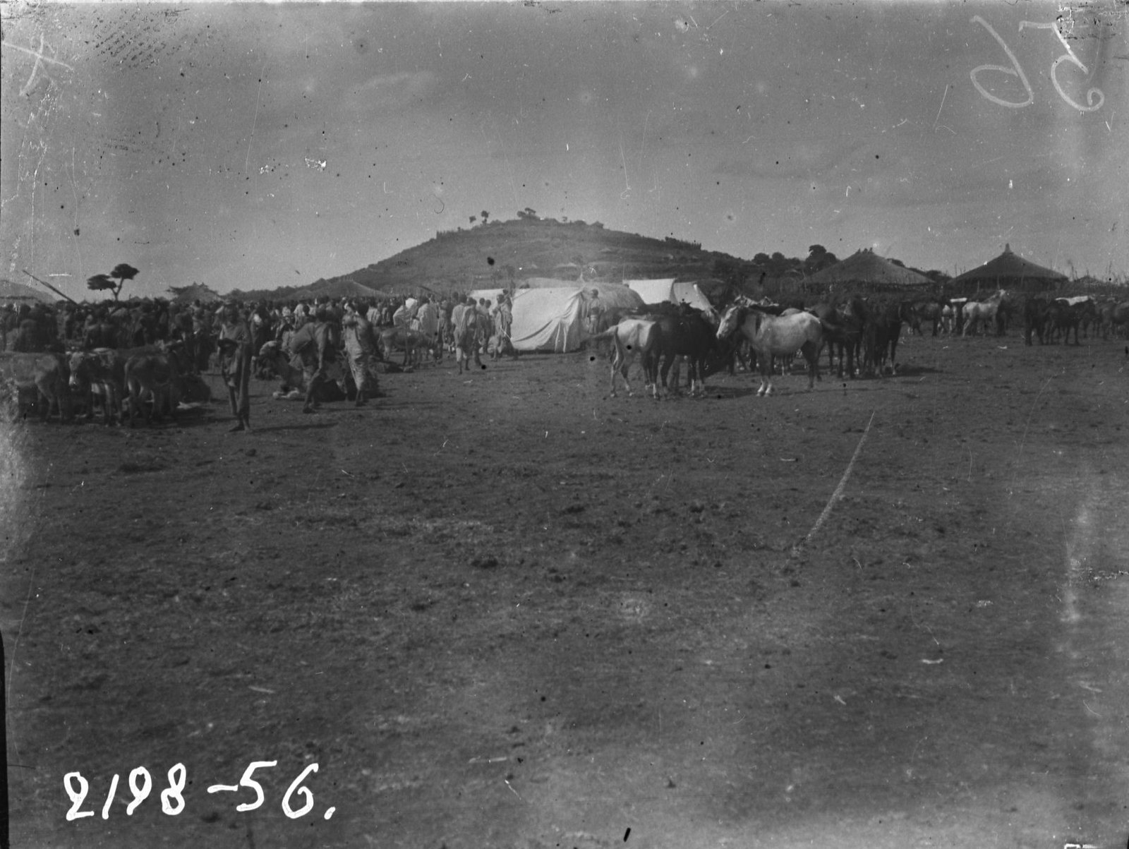 56. Рынок в городе Гинир