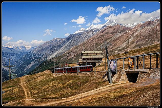 Gornrgratbahn_Bhe 4 3084_Riffelberg_Zermatt_Switzerland