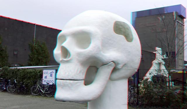 Skull Atelier van Lieshout  AVL Mundo 3D