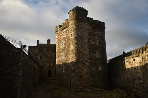 Blackness Castle's Central Tower
