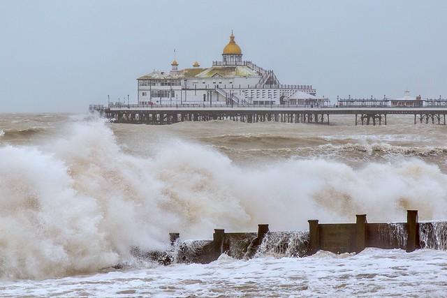 Storm Ciara lashes Eastbourne Pier