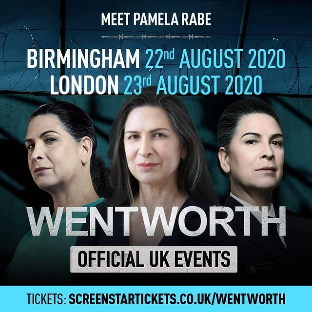 Pamela Rabe | Wentworth Official UK Events 2020