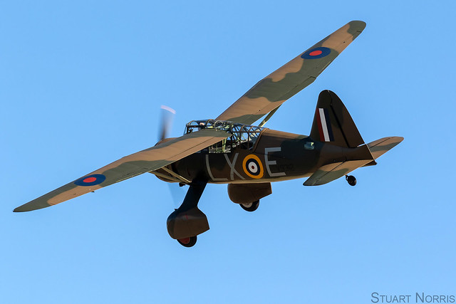 Lysander IIIA V9312 G-CCOM - The Aircraft Restoration Company Duxford