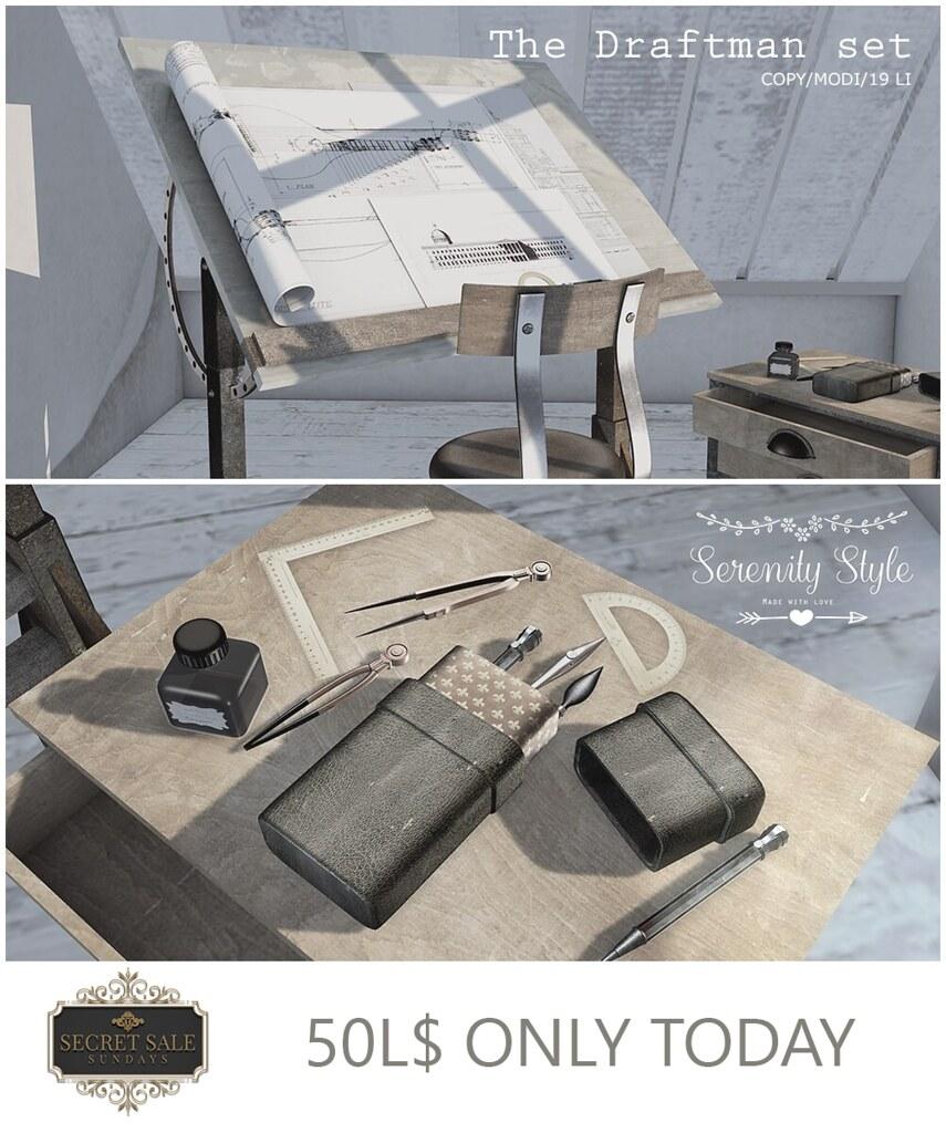 Serenity Style- Secret Sale Sundays 50L$