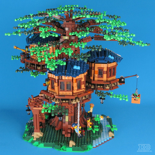 LEGO Ideas 21318 Tree House Review-29 | by DoubleBrick.ru