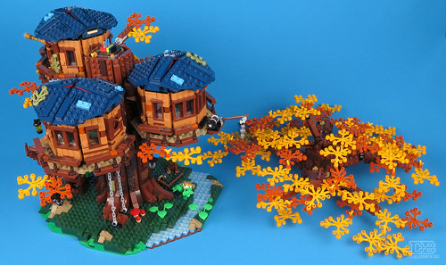 LEGO Ideas 21318 Tree House Review-40 | by DoubleBrick.ru