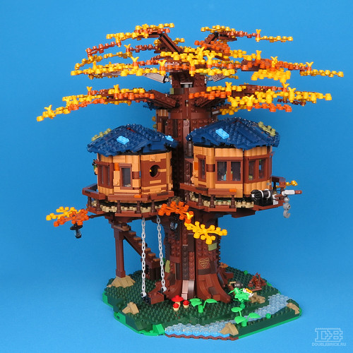LEGO Ideas 21318 Tree House Review-42 | by DoubleBrick.ru