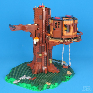 LEGO Ideas 21318 Tree House Review-15 | by DoubleBrick.ru