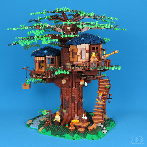 LEGO Ideas 21318 Tree House Review-26 | by DoubleBrick.ru
