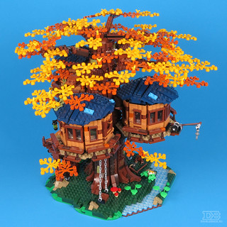 LEGO Ideas 21318 Tree House Review-41 | by DoubleBrick.ru