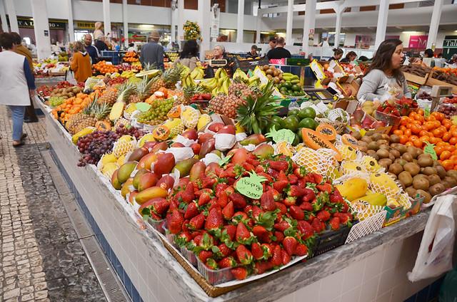 Food market, Setubal, Portugal