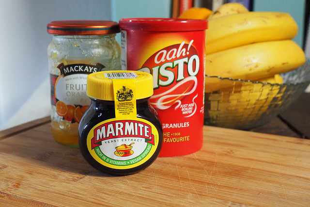 Familiar foods