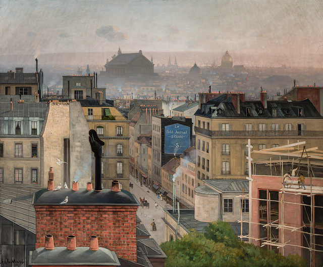 Antonin Chittussi - Paris seen from Montmartre, 1887 at National Gallery Prague Czechia