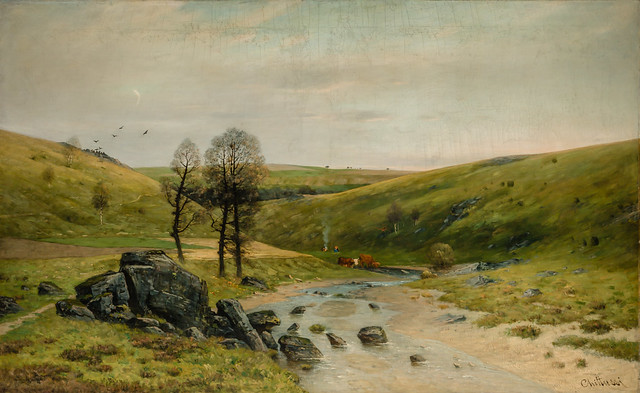 Antonin Chittussi - From the Valley of the River Doubravka, 1886 at National Gallery Prague Czechia