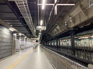 上野駅 13番線ホーム