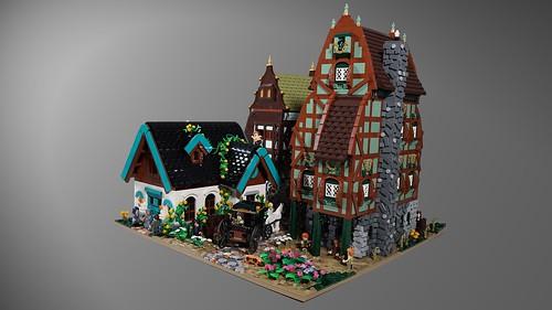 LEGO Store Billund Layout