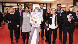 """Hochschultag """"Entrepreneurship in einer digitalisierten Welt"""" in Karlsruhe"""