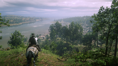Red Dead Redemption 2 - Looking South Towards Annsburg