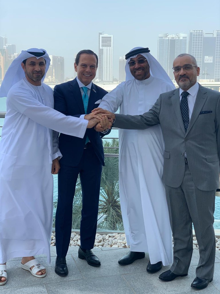 Reunião com o Ministro de Estado dos Emirados Árabes