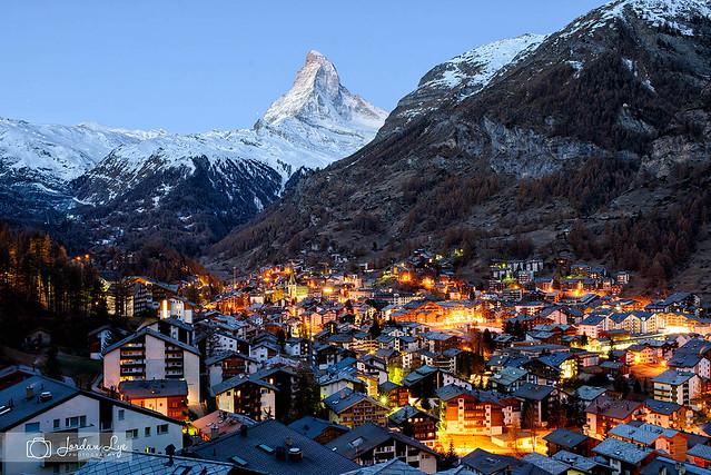 Zermatt at dawn