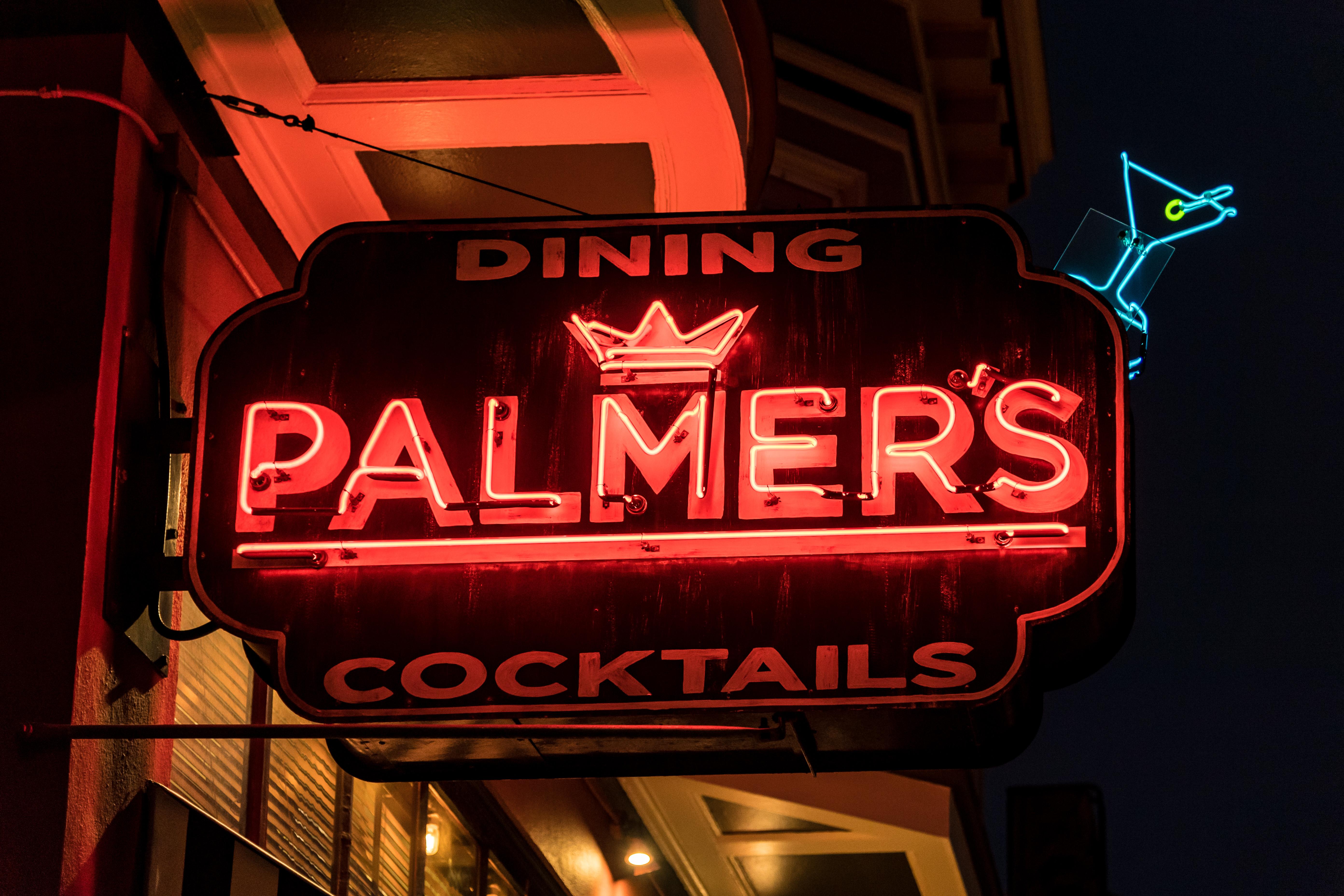 Palmer's Tavern - 2298 Fillmore Street, San Francisco, California U.S.A. - January 25, 2020